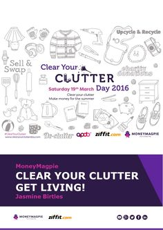 Clear Your Clutter - this eBook will tell you everything you need to know about making money from your clutter!
