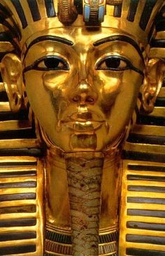King Tutankhamen's Mask, which we saw when a   portion of the collection was brought to Los Angeles County Museum.