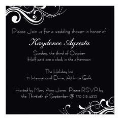 Everlasting love custom wedding invitation zen wedding everlasting love wedding shower invitation stopboris Gallery