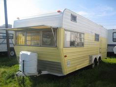 I want one of these vintage trailers!