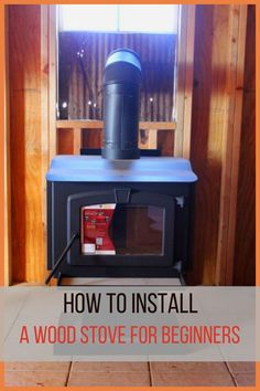 Wondering how to install a wood stove hearth? If you're thinking of getting a wood stove fireplace, and aren't sure if it's for you (or whether a wood stove surround is a good idea), then read this wood stove ideas guide! Wood Stove Chimney, Wood Stove Hearth, Stove Fireplace, Wood Burner, Wood Stove Installation, Wood Stove Surround, Raising Backyard Chickens, Off Grid Cabin, Into The Woods