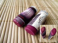 Ophelia's Apothecary Lip Tints in Black Cherry and Bitten