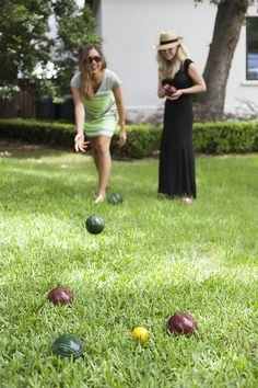 Bocce Ball | Summer Barbeque with Hayneedle | Photos by Chelsea Fullerton for Camille Styles