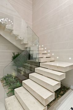 Ideas Formulas And Shortcuts For Stair Lighting Ideas Home Stairs Design, Stair Railing Design, Interior Stairs, Modern House Design, Interior Design Living Room, Modern Stairs Design, Stair Lighting, Lighting Ideas, Futuristic Furniture