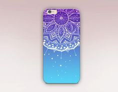Ombre Mandala Phone Case iPhone 6 Case by ShopCatchingRainbows