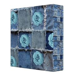 """Title : Denim Designs, Patchwork Turquoise Floral Print Binder  Description : """"Denim-Designs"""", Flowers"""", Souvenirs, Gifts, """"Digital-Designs"""", """"Art-Illustrations"""", Trendy, Modern, Stylish, Denim, """"Denim-Designs"""", """"Blue-Jeans"""", """"Distressed-Denim"""", """"Frayed-Denim"""", Patchwork, Patches, """"Denim-Patchwork"""", Decals, """"Faux-Embroidered-Patches"""", """"Worn-Jeans"""", """"Girly-Chic"""", """"Tattered-Jeans"""", """"American-Old-West-Fashions"""", """"Ripped-Jeans"""", Patriotic, Symbolic  Product Description : <div>  Size: Avery…"""