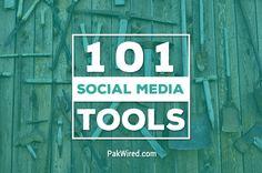 101 Social Media Tools for Social Media Marketing and More