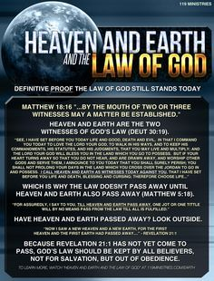 Heaven and earth have not yet passed away. Until then, the Commandments are in full effect for those who truly love God. Whoever says they love God and do NOT keep the commandments are liars. (per the Word of God). Bible Scriptures, Bible Quotes, Inspirational Scriptures, Hebrew Bible, 119 Ministries, Sabbath Quotes, Scripture Study, Scripture Journal, Bible Knowledge