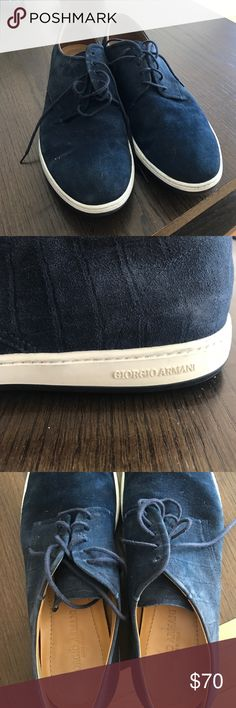 Giorgio Armani Shoes Giorgio Armani shoes that have only been worn once! Giorgio Armani Shoes