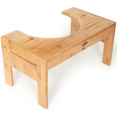 ToiletTree Products Bamboo Toilet Stool is also great for kids.