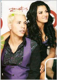 Maite Perroni y Christian Chavez #Chaverroni #RBD