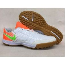 new styles ebf87 4b793 2017 Nike Tiempo Legend VII TF мужчины белый оранжевый Зеленый футбольные  бутсы для игры на газоне