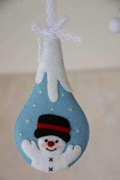 cute snowman bauble