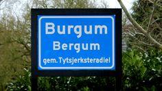 Ik kom uit Burgum, dat is een dorp uit Friesland.
