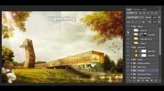 architecture presentation photoshop - Cerca con Google