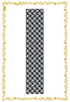 "Peyote beading pattern Bracelet cuff ""Goose foot"". Beadwork Cuff. Instant Download. Pattern PDF. on Etsy, $3.00"
