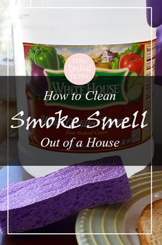 How To Clean Smoke Smell Out of a House: For any aspiring housewife-to-be who has burnt dinner to a crisp. 5 tips and tricks to rid the smell of smoke.