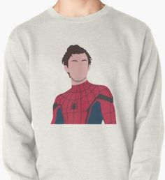 Pullover by katehaas Unique Hoodies, Cool Hoodies, Pretty Outfits, Cool Outfits, Summer Outfits, Tom Holland Shirt, Disney Themed Outfits, Marvel Clothes, Tom Holland Peter Parker