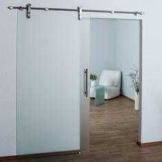 Lovely Modern Stainless Barn Style Sliding Glass Door Hardware On Sale,USD Sets