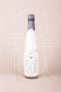 Miin Korean traditional rice wine in Bottles/packaging