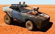 """Someone's conception of an """"off road Interceptor"""""""