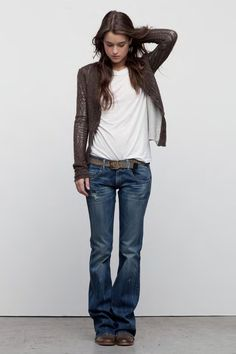 I love the cut of these jeans. Long enough to wear with cowboy boots (34 in) would be great. tk May 2016
