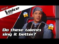 We've made a list of 10 AWESOME talents who auditioned with a coach song in The Voice Kids. Who would you pick as a winner? Daddy Yankee, Lists To Make, Working With Children, The Voice, Singing, Songs, Youtube, Kids, Top
