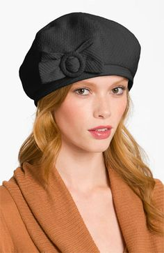 Halogen® 'Bow' Beret available at #Nordstrom