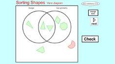 Sorting 3d shapes on a venn diagram maths pinterest 3d shapes mathsframe 170 quality interactive maths games for ks2 ccuart Choice Image