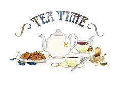 Znalezione obrazy dla zapytania tea time