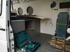 Panneau Solaire Camping Car, Corner Desk, Cabinet, Storage, Furniture, Home Decor, Tour, Vans, Europe