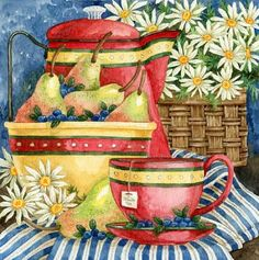 Tea by Diane Knott                                                                                                                                                      Mais