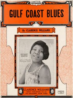 Bessie Smith was a rough, crude, violent woman. She was also the greatest of the classic Blues singers of the Bessie started out. Jazz Blues, Blues Music, Bessie Smith, Classic Blues, Delta Blues, Jazz Artists, Women In Music, Vintage Sheet Music, Jazz Age