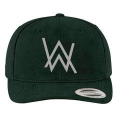 Alan Walker Logo Brushed Embroidered Cotton Twill Hat