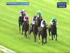 2012 Lockinge Stakes. Frankel Wins!    One Of The Greatest Horses Ever!