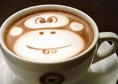 Latte art is the cherry on top of an incredible coffee drink. Here are some of our favorite latte art GIFs from some very talented baristas. Cappuccino Art, Coffee Latte Art, Coffee Coffee, Coffee Break, Morning Coffee Images, Good Morning Coffee, Web Design, Website Design, Funny Food Pictures