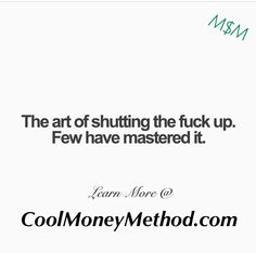 This is funny and vulgar but very true! #MCA #Inspiration #Quotes #100