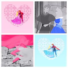 Princess Colour + Pink & Blue | We Heart It