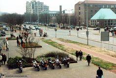 Oud Enschede - Boulevard met voormalige HTS