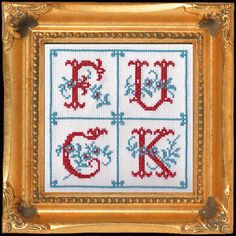 I need to cross stitch this, I can just picture it in some spunky grandma's house.