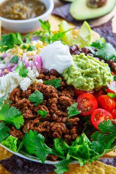 Taco Salad #taco #salad #dinner
