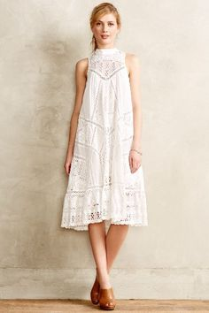 Porcelain Panel Maxi Dress - anthropologie.com