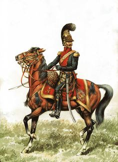 French;Line Lancer Officer either 1st if facings are scarlet or 6th if facings are red.
