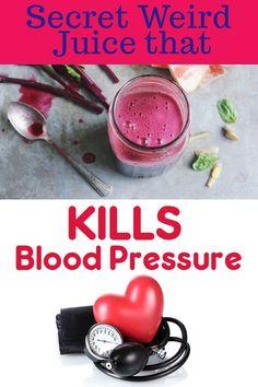 1 Secret Weird Juice that KILLS Blood Pressure