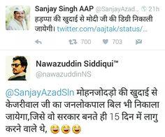 Now #AAPTards will understand jaise ko taisa kise kehte hai #dirtypolitics #politics #aap #aamaadmiparty