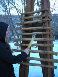 DIY Outdoor musical instruments- love this xylophone