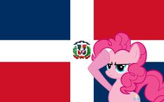 Pinkie Pie Salutes to The Dominican Republic