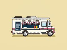 Fast Food Festival Foodtruck by Claud Nani
