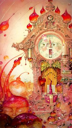 It's About Time ~ by Daniel Merriam ~ Watercolorist Extraordinaire