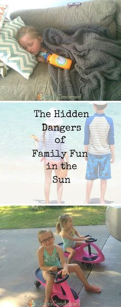 The hidden danger of family fun in the sun - what I wish I had known.